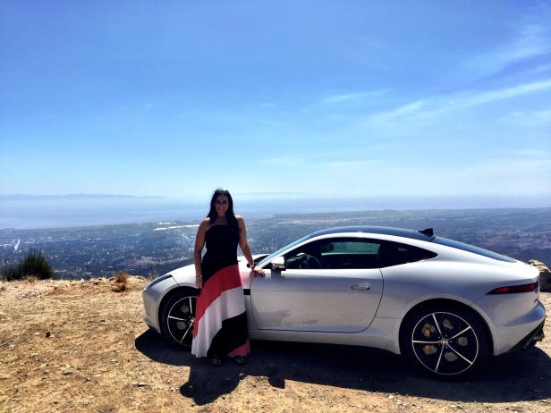 Me and the Jag in California